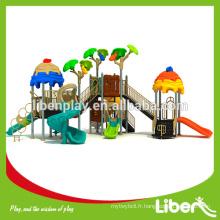 Nouvelle conception Ice Cream Roof Park Structures Équipement de terrain de jeu
