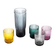 Jarra de vidrio DOF de color sólido