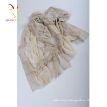 Bufandas de seda del mantón Pashmina de la cachemira de la manera de gran tamaño al por mayor para las mujeres