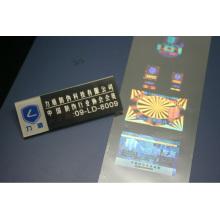 High sercurity anti-counterfeit hologram security sticker,custom made hologram sticker,10ml hologram vial label