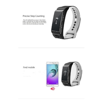 Bluetooth Earphone Sleep Monitor Smart Bracelet