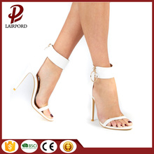 white high heel stylish elegant ladies sandals