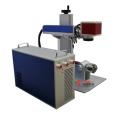 Machine rotative d'inscription de laser de fibre de bureau