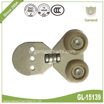 360 Rotate Fleksibel Wheel Hanging Sliding Door Roller