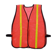 Reflective Mesh Securicity Vest with PVC Tape