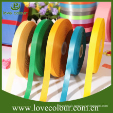 Custom wholesale kinds of ribbons/100% Polyester decorative double face satin ribbon