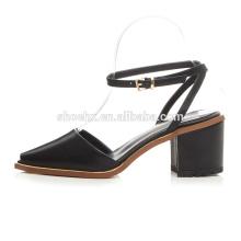 2016 роскошный новый дамы открытой пяткой обувь