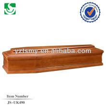 ataúd de cremación económica con la talla