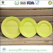 Sustainable bamboo fiber tray