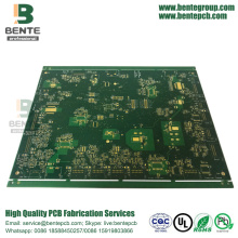 1oz Multilayer PCB 6 Schichten ENIG 3U