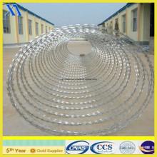 Especificaciones galvanizadas del alambre de púas de la concertina (XA-GW006)