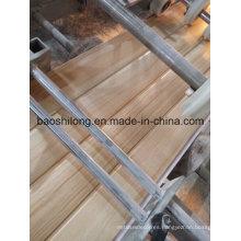 Diseño de madera Nuevo 2016 panel laminado del PVC del panel de pared del PVC Nuevo molde La India