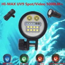 2015 HI-MAX Underwater Sports Camera Video Light