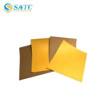 papel de lija hecho a mano de óxido de aluminio