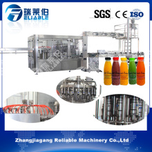 Monoblock Automatic Plastic Bottle Juice Beverage Filling Machine