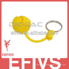 """8""""Monkey Fist Keychain with keyrings"""