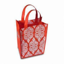 Eco-friendly Shopping Tote Bag, OEM Orders are Welcome, Made of Nonwoven PP Fabric
