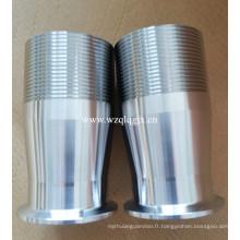 Raccord de tuyau de raccord rapide en acier inoxydable