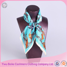 Высокое качество 100% шелка саржевого шелковый шарф с различным размером