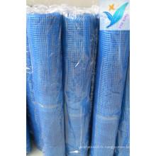 10mm * 10mm 90G / M2 Maillage en fibre de verre en béton