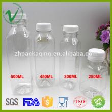 Горячая продажа холодной бутылки сок пластиковые бутылки компании в Китае
