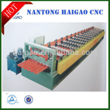 Tipo chapa de cobertura máquina de dobra / chapa de aço galvanizado máquina