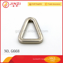 2015 china hot sale made china wholesale handbags metal triangle buckles