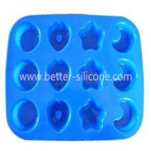 Customized Shape Silicone Chocolate Moulding