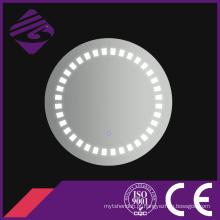 Jnh204 claro moderno LED iluminação grande redondo banheiro espelho