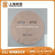 máscara de camelia rosa máscara facial camelia tela de la planta máscara