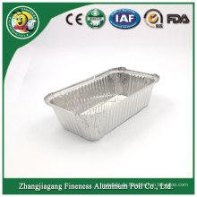 Maßgefertigter Aluminium-quadratischer Thermo-Nahrungsmittelbehälter