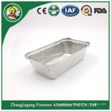 Envase de comida cuadrado de aluminio promocional por encargo de Thermo