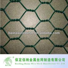 24-дюймовая 25-футовая 1-дюймовая сетка с покрытием из ПВХ с зеленой сетью для домашней птицы