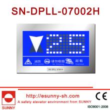 Indicador del LCD del elevador para el elevador (CE, ISO9001)