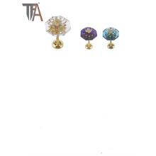 Crochet en rideau en fer et en cristal avec une bonne qualité