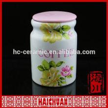 Tarros de galletas de cerámica Cupcake