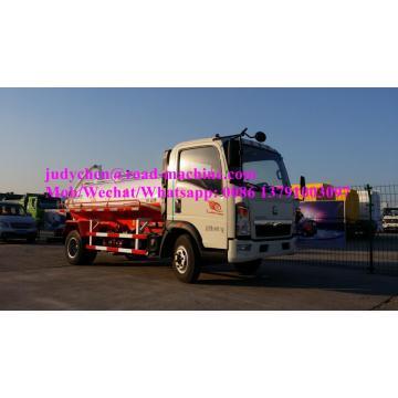 SINOTRUK HOWO 4x2 5m3 sewage suction truck