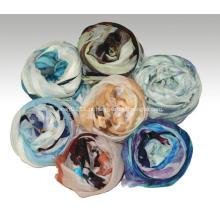 lenço de cashmere penteado lenço gradiente ultra-fino