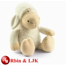 White cute sheep plush toy