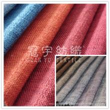 Tissu 100 % polyester Imitation lin