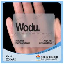 Offset Printingtransparent Gift VIP Card