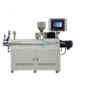 PLC control double screw extruder