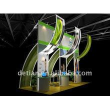 Шанхай подгонянная конструкция киоска с портативный алюминиевый материалами