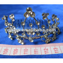 Diamond bridal tiara comb (GWST12-084)