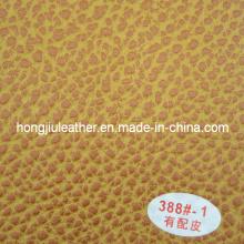 Eco Friendly colorido e de alta qualidade couro sintético sofá