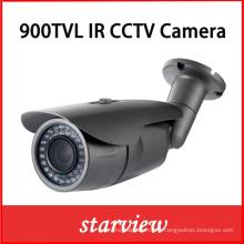 900tvl CMOS fijo lente impermeable IR cámara de seguridad CCTV (W14)