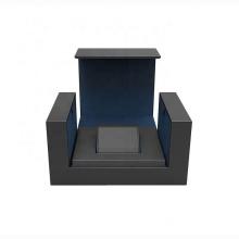 Custom Logo specialty paper black single watch box display for watch strap box