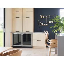 Monte armários de cozinha modernos