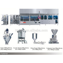 soybean milk peak nozzle doypack packing machinery
