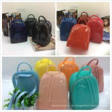 Proveedores de Guangzhou 10 colores jalea bolso diseñador mujeres bolsos (2295)